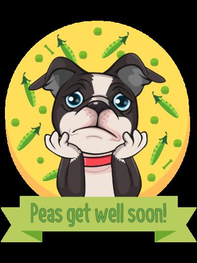 Peas Get Well Soon 2